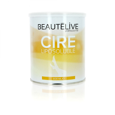 Cire épilation liposoluble Miel 800ml
