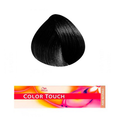 Color touch Noir 2/0 coloration sans ammoniaque 60 ml