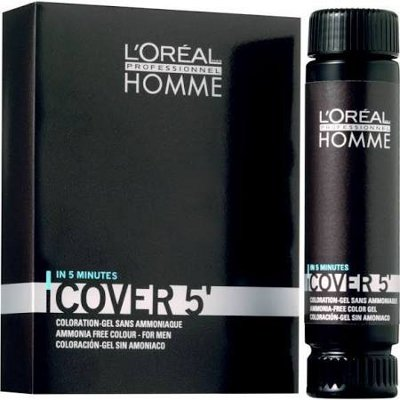 Coloration homme Cover 5 sans ammoniaque  Chatain 4 - 50ml