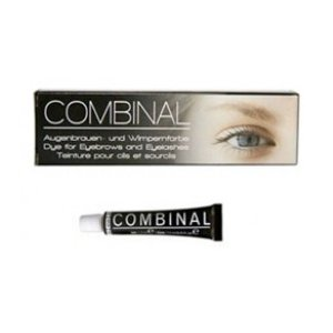 Kit Combinal coloration cils, sourcils <br/> 15ml Noir