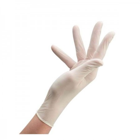 Gants latex Taille S 100 pieces