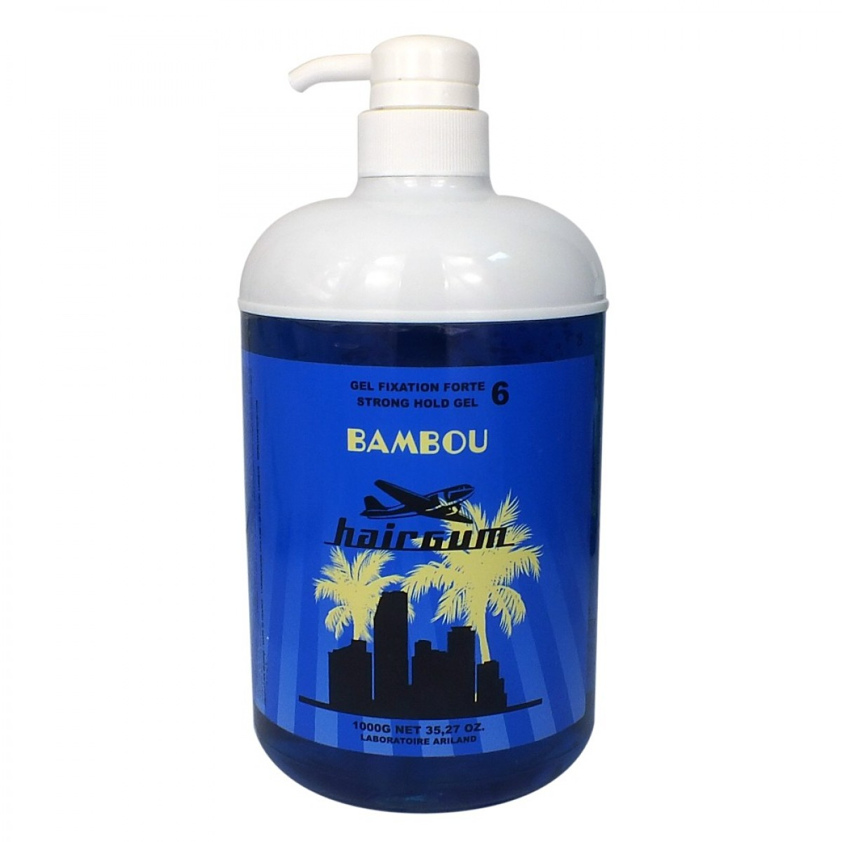 Gel fixant bambou, 1000 ml<br/> Hairgum