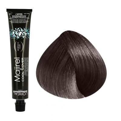 Majirel Cool Cover N°7.18 blond cendré mocca 50ml