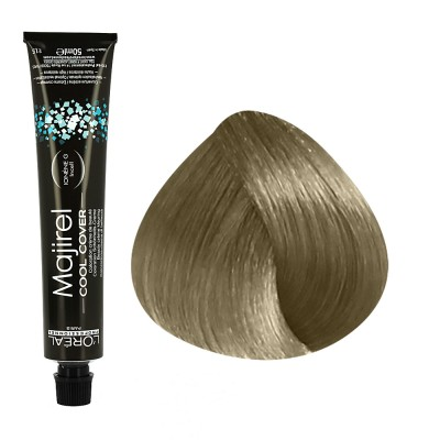 Majirel Cool Cover N°8.1 blond clair cendré 50ml