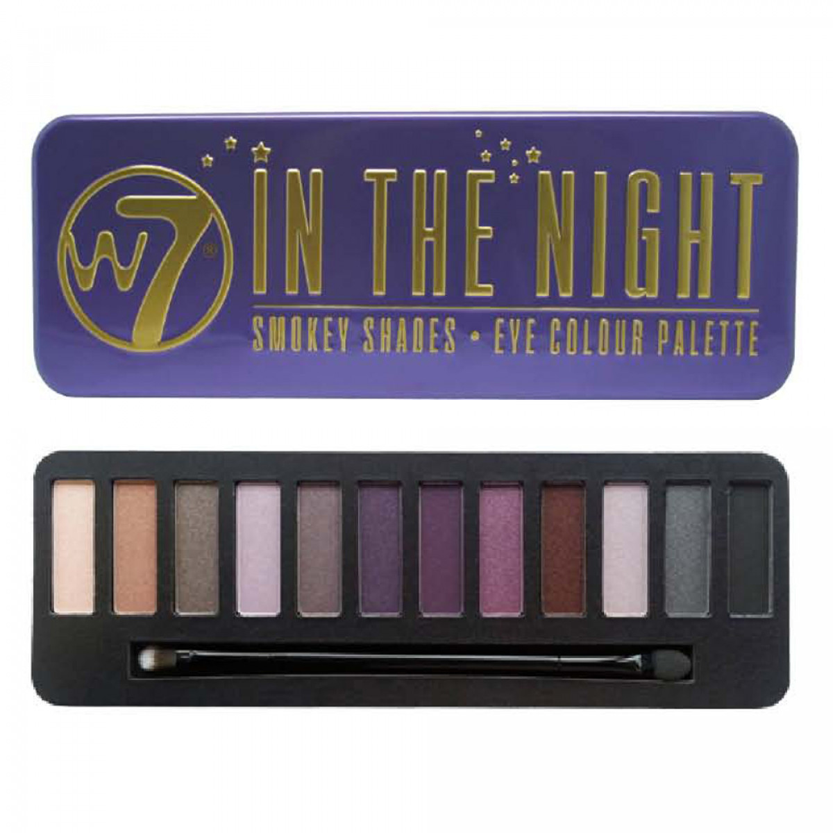 Palette maquillage In the night W7