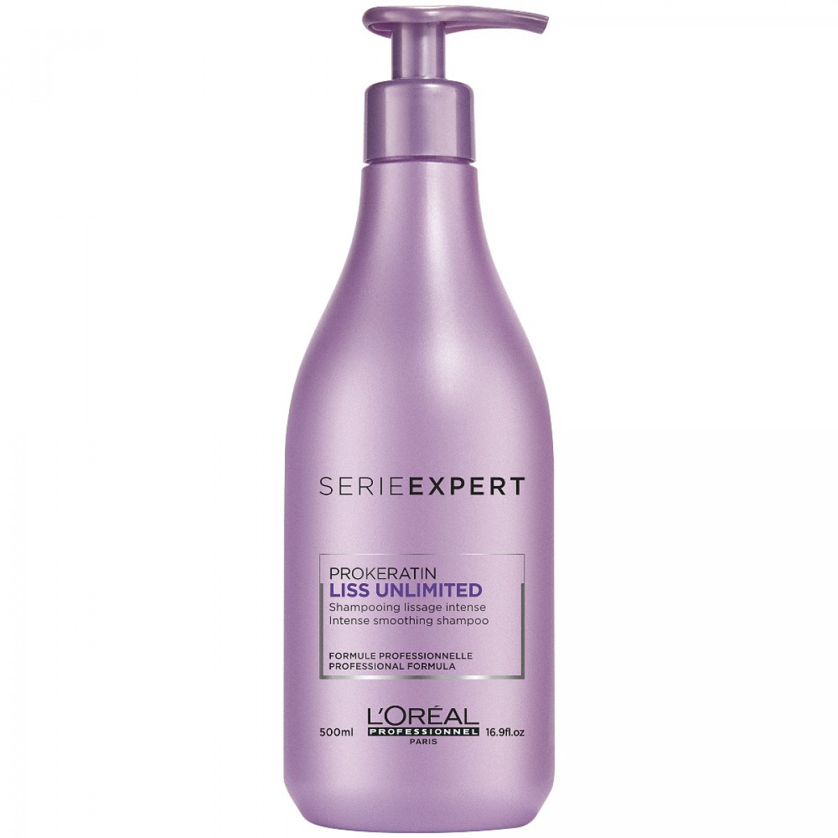 Shampooing Liss Unlimited 500ml  <br/> L'oréal pro