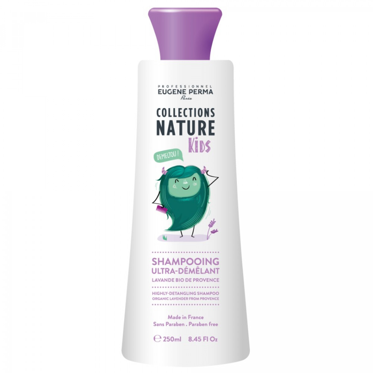 Shampooing ultra démélant Natural kids 250ml Eugene Perma