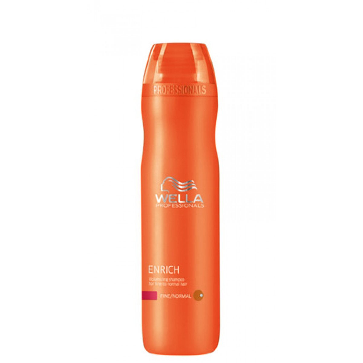 Shampooing volume cheveux fins normaux 250ml<br/> Wella Care Enrich