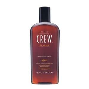 Shampooing classic 3 en 1 cheveux corps<br/> American crew  450ml