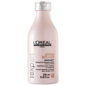 Shampooing shine blonde 250ml<br/> L'oréal pro