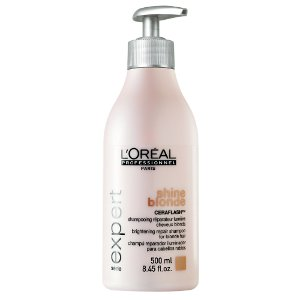Shampooing shine blonde 500ml<br/> L'oréal pro