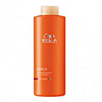 Shampooing volume cheveux fins normaux 1000ml<br/> Wella Care Enrich