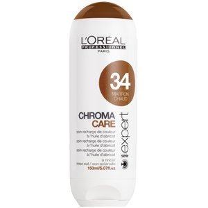 Soin Chroma care marron chaud 34 l'oréal professionnel 150ml