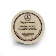 Crème à raser Taylor of old bond street Sandalwood, 150 gr